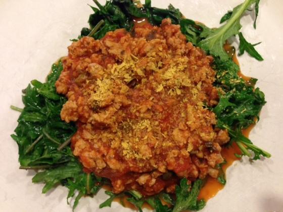 Kale w: sauce